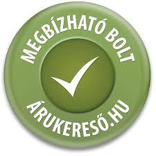 Megbízható bolt minősítés az Árukereső.hu minősítése alapján