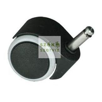 Parkettára alkalmas székgörgő 10 mm-es csappal