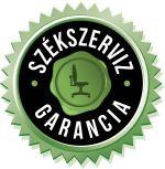 SzékSzerviz garancia az általunk forgalmazott termékekre