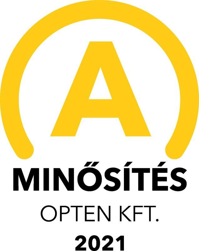 """Opten Kft """"A"""" minősítése a TÉ 96 Bt részére"""
